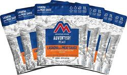 Mountain House Lasagna With Meat Sauce | Freeze Dried Backpacking And Camping |