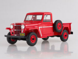 118 Bos Jeep Willys Pick Up 4wd 1954 Bos267 Rare