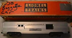 Lionel 2530 Lionel Lines Railway Express Agency Aluminum Baggage Car/box