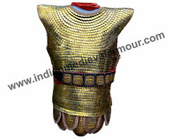 Brass Scale Armour With Belt / Medieval Byzentine Scale Armour / Roman Squamata