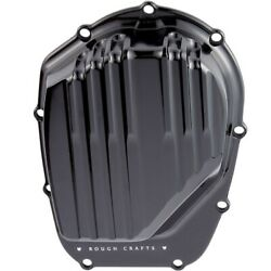 Arlen Ness Rough Crafts Black Cam Covers Harley Milwaukee Eight M8 17-up