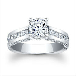 2.21 Ct Diamond Engagement Wedding Ring 925 Sterling Silver Rings Size 5 6.5 7 9