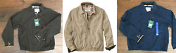 Nwt Menand039s Orvis Weathered Twill Escape Windbreaker Jacket Style 192886