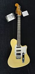 Brand New Sugar Guitar In Pale Yellow