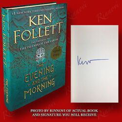 The Evening And The Morning SIGNED Ken Follett 2020HC1st 1st BRAND NEW $87.47