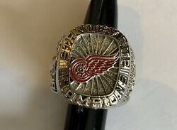 Detroit Red Wings Hockey 2008 Stanley Cup Champions Replica Ring Size 10 Mens