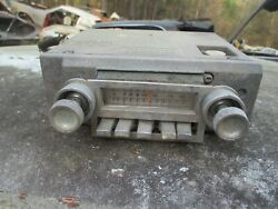 66 Thunderbird T-bird Am Radio With Knobs Core To Be Rebuilt Or For Parts 1966