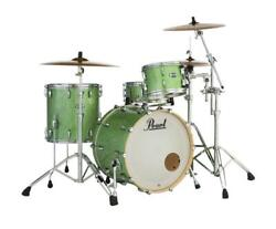 Pearl Masters Maple Complete 3-pc. Shell Pack Absinthe Sparkle Mct923xsp/c348