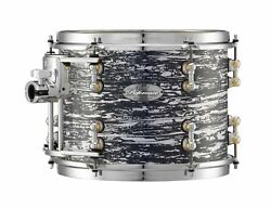 Pearl Music City Custom 12x10 Reference Pure Series Tom Black Oyster Glitter R