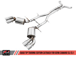 Awe Tuning Touring Edition Exhaust 16-21 Fits Chevrolet Camaro Ss/ 17-21 Zl1 | S