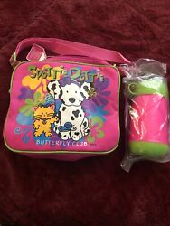 Spottie Dottie Butterfly Club Bag 1996 Sanrio Collectible Bag With Thermos New