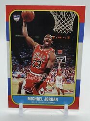 1986 Fleer Michael Jordan Rookie Card Chicago Bulls Mint Condition $6.00