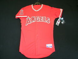 Los Angeles Angels Authentic Mlb Jersey 40 Medium, On Field Made In Usa 6300