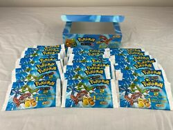 Pokemon Metal Tags Booster Box With 30 Sealed Booster Packs   2006 E-max