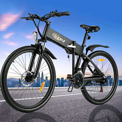 1426and039and039 350w Motor Folding Electric City Bike Ebike 48v 36v Lithium Battery