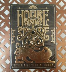 House Of The Rising Spade Cartomancer V1 Ed Playing Cards New Stockholm17 Deck