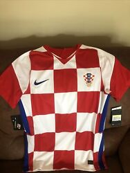 Nike Product Exclusive Croatia National Team Soccer Jersey Nwt Size S Men