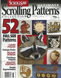 Scroll Saw Woodworking And Crafts Magazine Scrolling Patterns Collection Volume 1