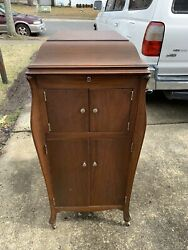 1920 Vv-xi Victor Victrola Antique Phonograph Cabinet Record Player