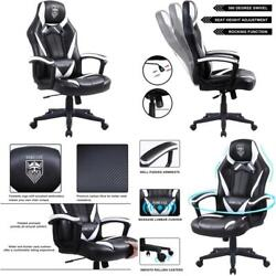 Gaming Chairs For Adults, Computer Chair Big And Tall, Ergonomic Gaming Chair Wi
