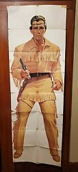 Vintage Original Life Size Tonto From The Lone Ranger Tonto T V Series