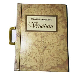 Stroheim And Romannandrsquos Venetian Showroom Collection Professional Swatch Book 2004