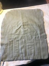 Vintage Jewelers Silverware Storage Tie Roll Pouch Bag 12-1/2andrdquow X 10andrdquo