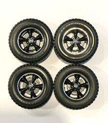 Set Of Off Road Wheels And Bfgoodrich Tires 1/18 Highway 61 / Acme 1/18 Scale
