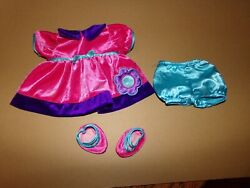 Cabbage Patch Kid Doll Tru Dolls Baby Girl  Pink N Purple Outfit  33