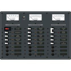 Blue Sea 8084 Ac Main +6 Positions/dc Main +15 Positions Toggle Circuit Breaker