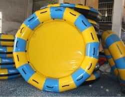 Inflatable 0.9mm Pvc 6 Person 13ft Towable White Water Lazy River Raft With Pump