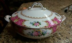 Royal Albert Lady Carlyle Covered Vegetable Bowl