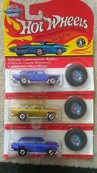 Hot Wheels X 3/ Vintage Collection And 25th Anniversary Classic Nomad