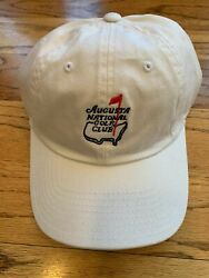 Masters Golf Augusta National Members Only Not Masters White Hat Cap Pga New