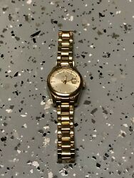 Fossil Women#x27;s ES3583 Gold Tone Stainless Steel Watch $24.99