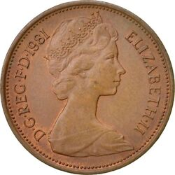 Rare 1981 New Pence 2p Coin - Last Printed Prior To Two Pence Name