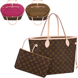 Louis Vuitton Never Full Tote Bag Mm W/ Pouch Monogram M40995 M41178 F/s