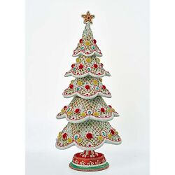 Katherineand039s Collection 2021 Gingerbread Tree Tabletop Decor