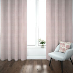 Carolina Linens Pinch Pleated Curtains In Farmhouse Red Traditional Ticking