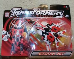 Transformers Robots In Disguise Deluxe Storm Jet Plane To Robot Hasbro Moc