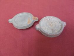Vintage Pair Lot 1920-30s Gas Radiator Caps Car Truck Ford Chevy Dodge