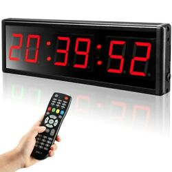 Seesii 2.3and039and039 Programmable Led Digital Workout Timer Led Gym Timer For Home