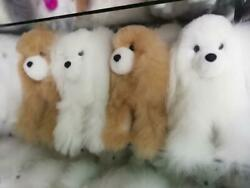 Lot Of 20 Alpaca Dogs Toy Handmade Fur Stuffed 10 Free Shipping/we Have Store