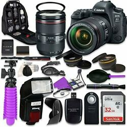 Canon 6d Mark Ii Dslr Camera With Canon Ef 24-105mm F/4l Is Ii Usm Lens