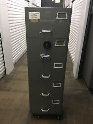 Mosler Heavy Duty Gsa 5-drawer Safe /digital Combo Local Pickup Only