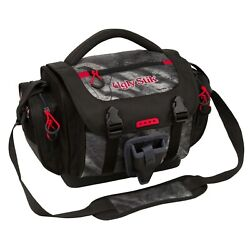 Fishing Tackle Bag Waterproof Large W/4 Lure Box Container Storage Pocketsblack