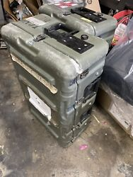Hardigg Pelican Olive Case Medical Chest Container 42x27x20 W/ Pressure Relief