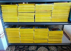24 Years - 290 National Geographic Back Issues 1976 Thru 1999 Complete W/ Maps