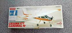 Kyosho Rc Airplane Cessna 177 Cardinal 10 Plastic Model Kit Boxed