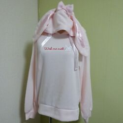 Sanrio License Wish Me Mell Hoodie Size M Angel Warm Material